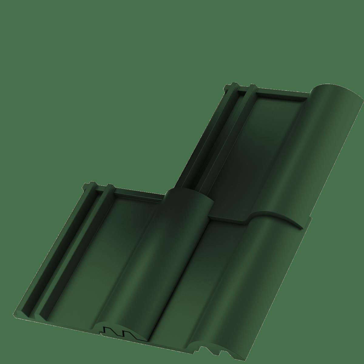 Zelená střešní krytina